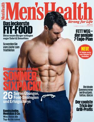 Das Cover der Juni-Ausgabe 2017 von Men's Health