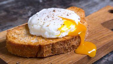 Das Eigelb ist das Beste vom Ei