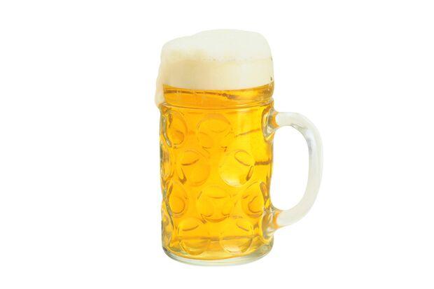 Das Export Bier hat 44 Kalorien pro 100 ml
