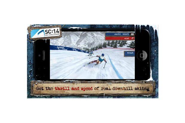 "Das Game ""Ski Challenge 14"""