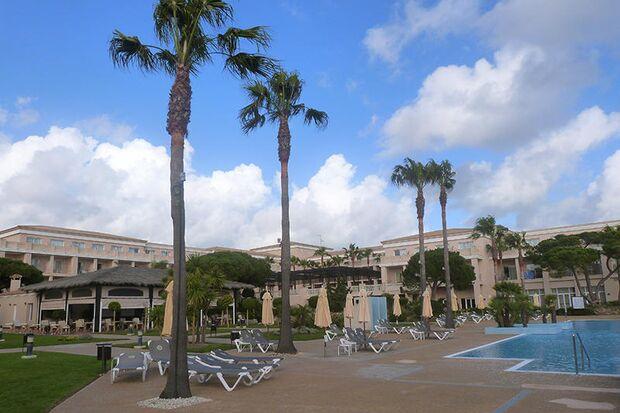 Das Hotel des Men's Health Camps