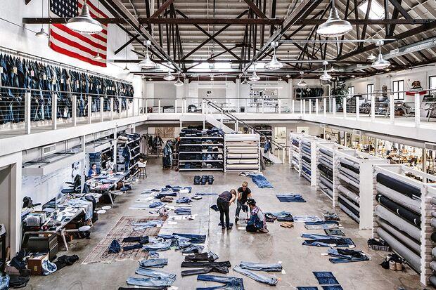 Das Levi's Eureka Innovation Lab in San Francisco
