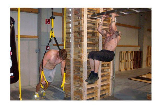 Das Paletten-Workout zeigt, dass Men's Health wirkt