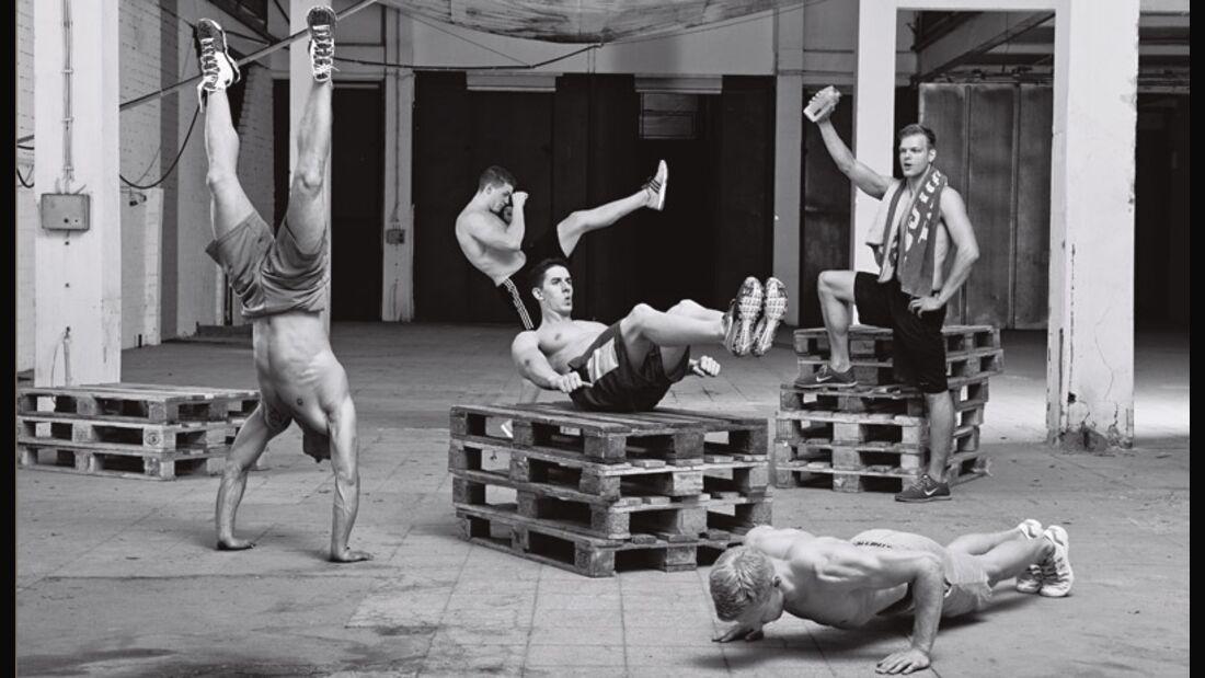 Das Training für Jedermann: Bodyweight