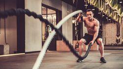 Das Training mit den Wilden Seilen formt den ganzen Körper