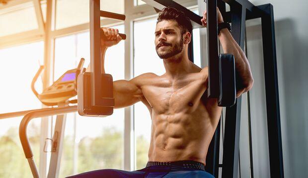 Das beste Training ist nutzlos, wenn Ihre Muskeln von einer dicken Speckschicht verdeckt werden