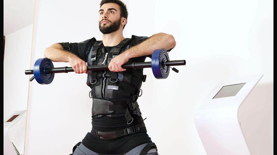 Das bringt elektrische Muskelstimulation für den Muskelaufbau