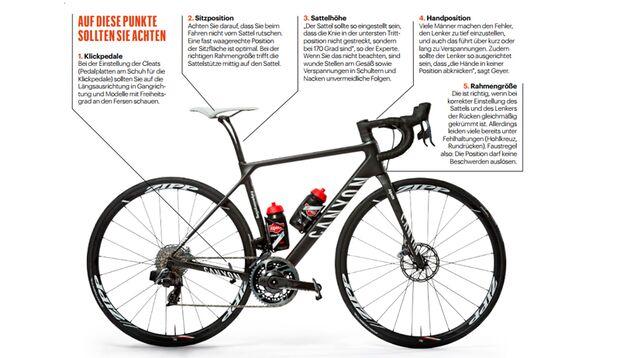 Das gibt es zu beachten beim Bike-Fitting