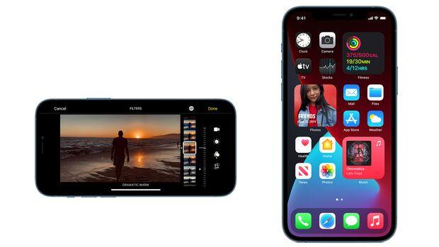 Das iPhone 12 Pro gibt es mit 128, 256 und 512 GB Speicher ab 1120 Euro
