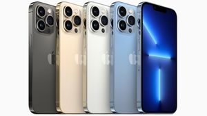 Das iPhone 13 Pro gibt es in den Farben Graphit, Silber, Gold und Sierrablau