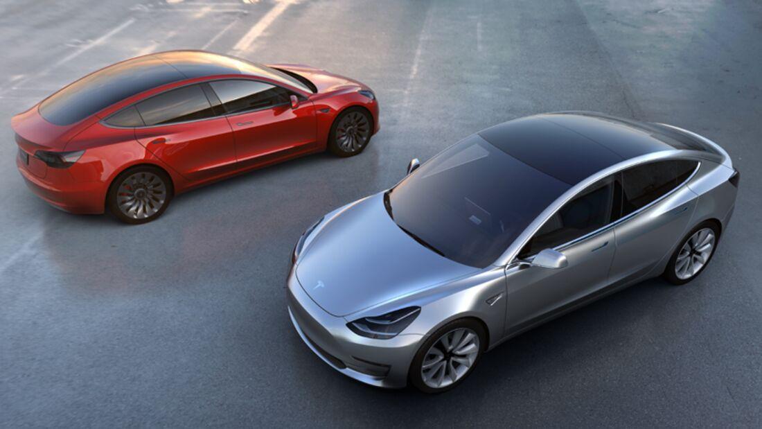 Das neue Elektroauto der Firma Tesla bietet umweltfreundliche Fahrten zu einem erschwinglichen Preis