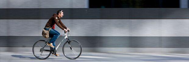 Das neue Men's Health Fitness-Bike für Männer bringt Sie auch sicher durch die Stadt