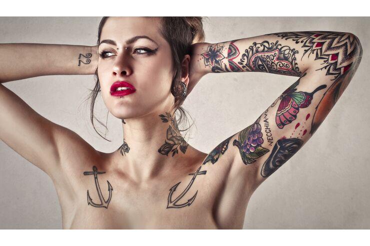 Tattoo für männer intim Genital Tattoos