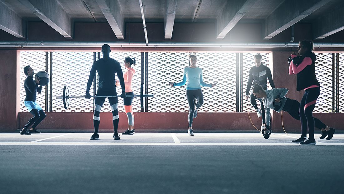 Das sind die 9 wichtigsten Fitnesstrends 2019