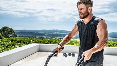 Das sind die Hammer-Übungen von Chris Hemsworth