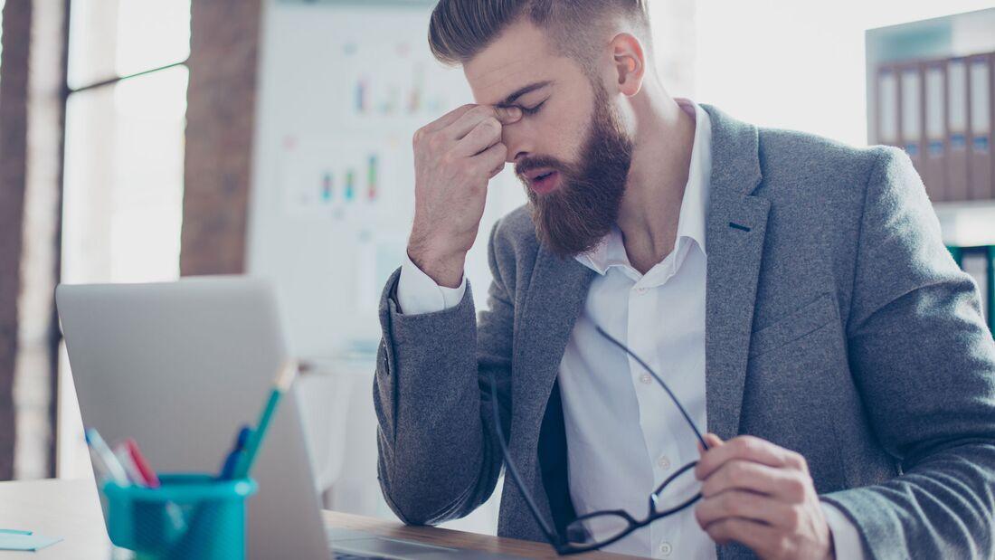 Dauerstress kann zu einer ernsthaften Gefahr für deine Gesundheit werden