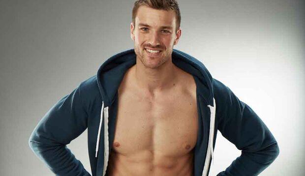 David Kramme war Finalist beim Men's-Health- Cover-Model-Contest