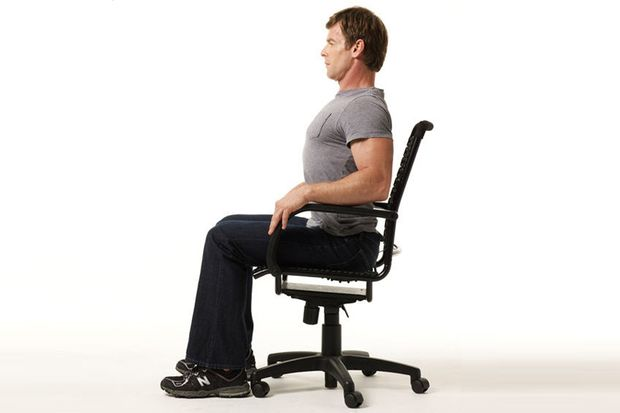 Dehnübungen im Büro machen fit