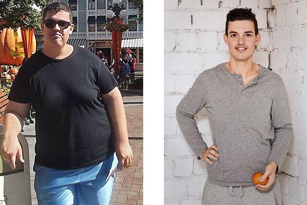 Gewichtsverlust in einem Monat 15 Kilo in Stein