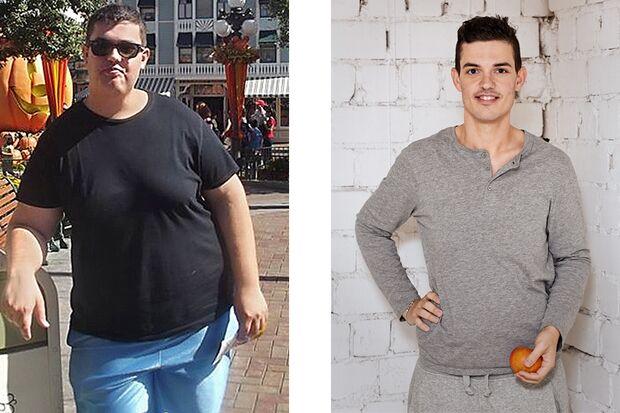 Deni wog vorher 152 Kilo und nachher nur noch 85 Kilo