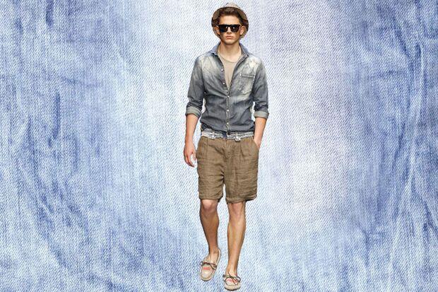 Denim-Trend: Designer-Outfit von D&G