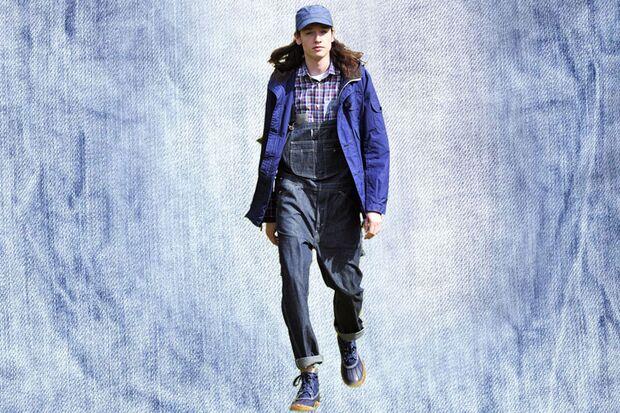 Denim-Trend: Designer-Outfit von Junya Watanabe