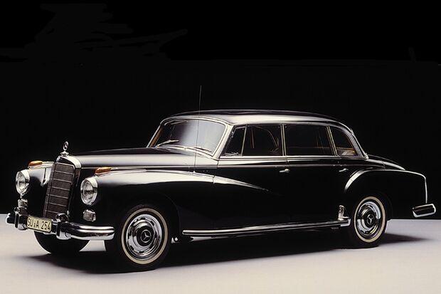 Der 300d Adenauer-PKW von Mercedes-Benz
