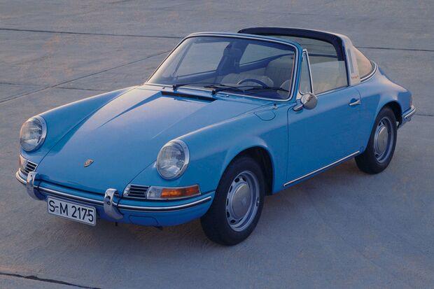 Der 911 Targa von Porsche