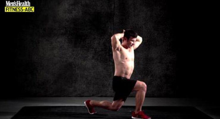 Der Ausfallschritt ist eine exzellente Übung, um bei einem Beintraining wirklich jeden Muskel anzusprechen. Ob mit oder ohne Zusatzgewicht, stellt der Ausfallschritt eine hochintensive Übung dar.