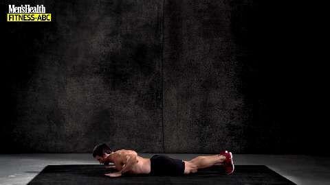 Der Burpee ist die beste Übung um Kraft, Ausdauer und den Kalorienverbrauch zu steigern. Denn diese Kombination aus Liegestütz, Kniebeuge und Strecksprung bringt Ihren Motor ruck, zuck in den dunkelroten Bereich.