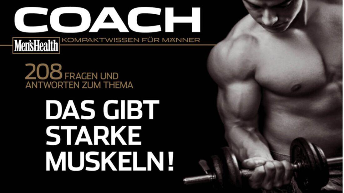 """Der COACH """"Das gibt starke Muskeln!"""" als Download!"""
