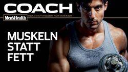 """Der COACH """"Muskeln statt Fett"""" als Download"""