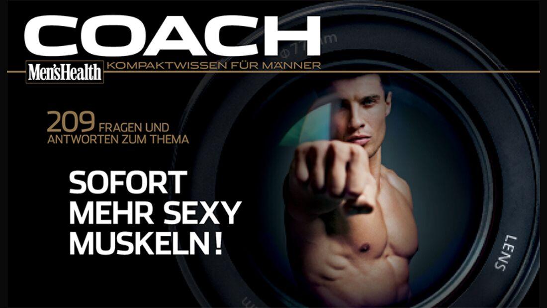 """Der COACH """"Sofort mehr sexy Muskeln"""" als Download"""