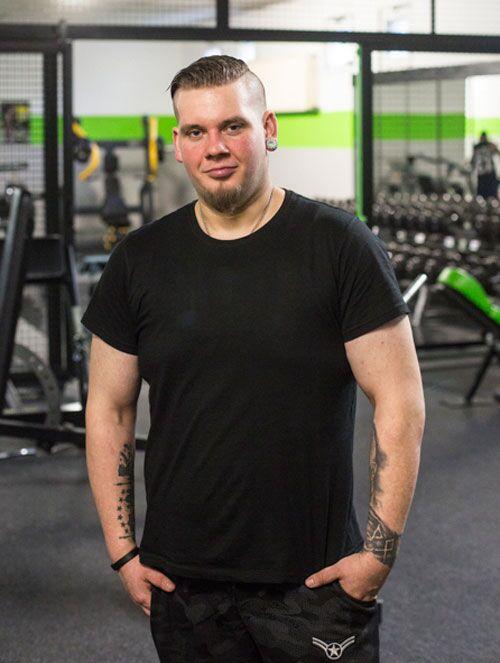Der Druckerei-Angestellte aus Thüringen wog mal 151 Kilo