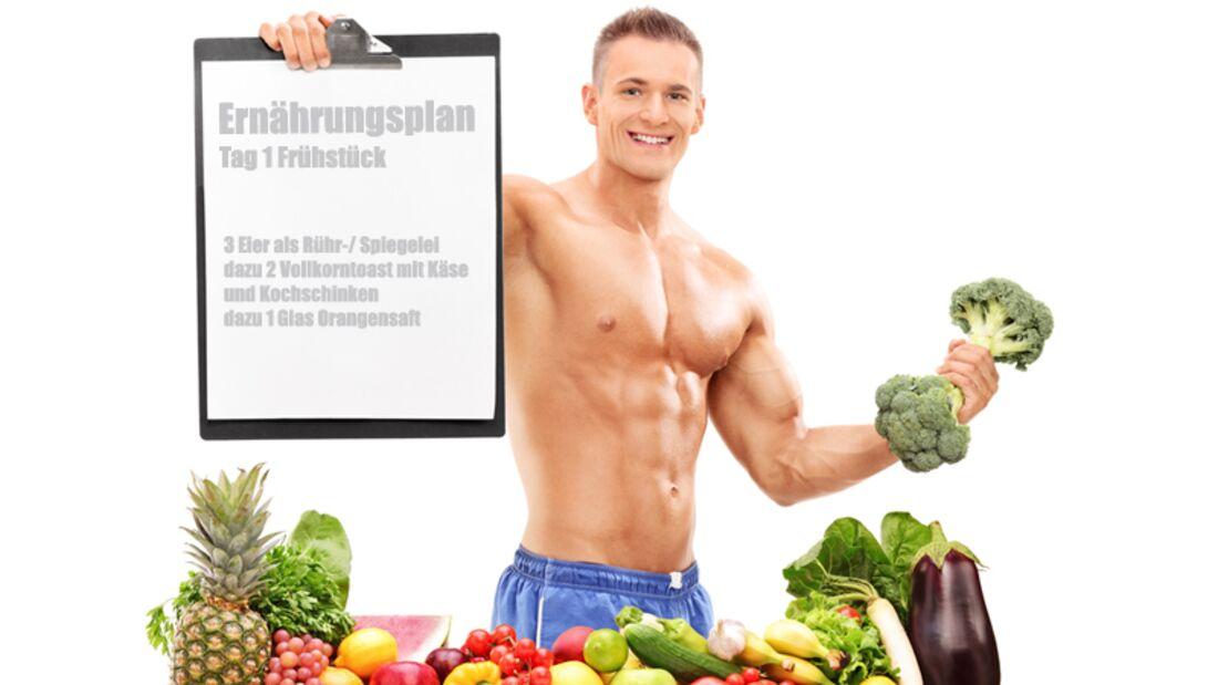 Der Ernährungsplan für Mister Strongarm
