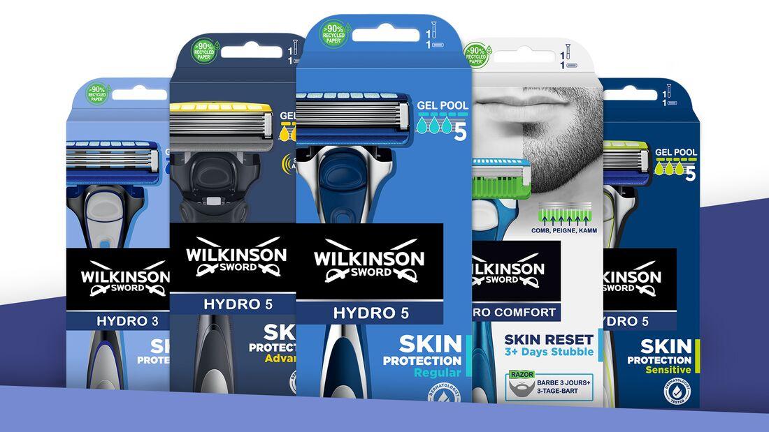 Der Gewinn: Ein fünfteiliges Hydro-Set von Wilkinson