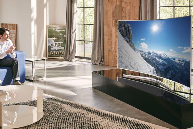 """Der """"JS9090""""-TV von Samsung"""
