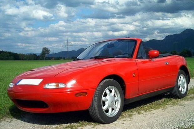 Der MX-5 von Mazda