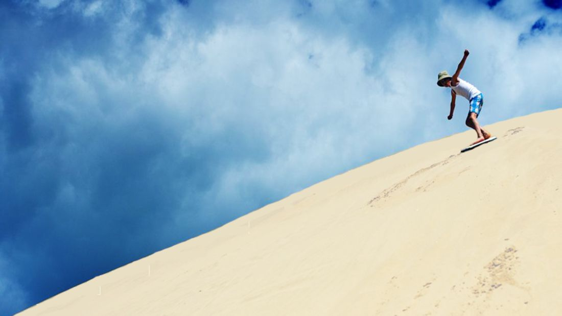 Der Monte Kaolino in Hirschau ist der höchste Sandberg Europas