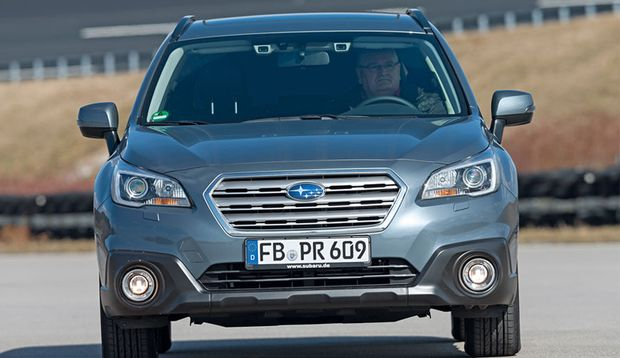 Der Subaru Outback mit Eyesight-System