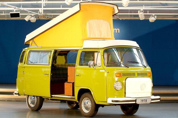Der T2 Westfalia Camper von VW