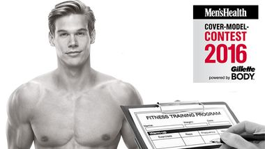 Der Trainingsplan für Covermodels