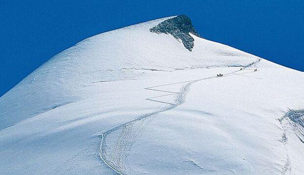 Der Weg zum Gipfel beginnt