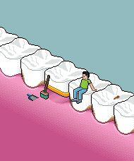 Der Zahngeschädigte