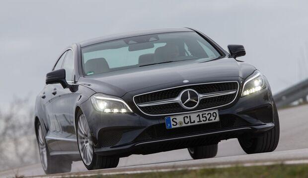 Der gediegene Mercedes CLS 400 überzeugt mit souveränem Antrieb und Komfort.