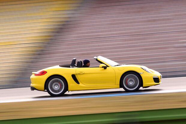 Der neue Porsche Boxster ist ein Leichtgewicht