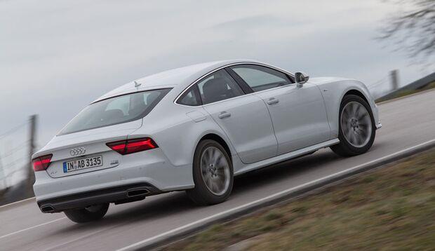 Der straffe Audi kann beim Thema Federungskomfort nicht ganz mit der Konkurrenz mithalten.
