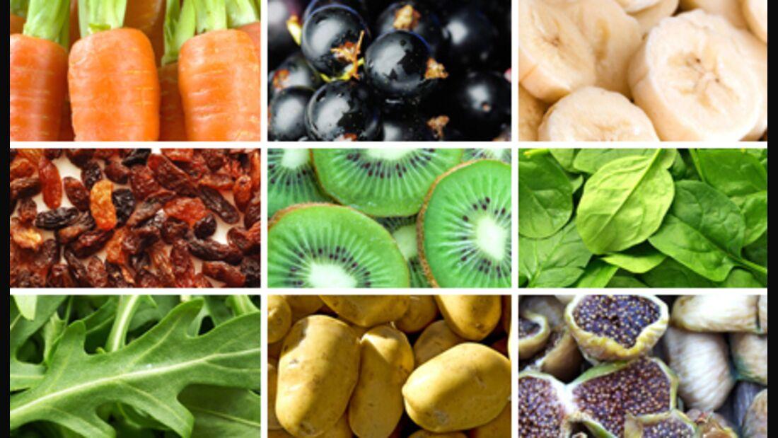Die 10 basenhaltigsten Lebensmittel