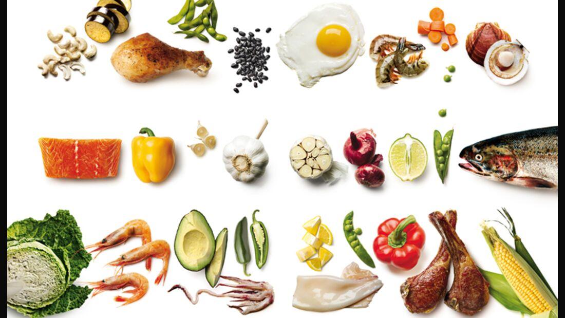 Die 10 besten Nahrungsmittel