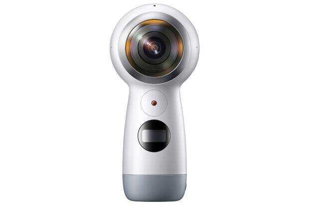 """Die 360-Grad-Kamera """"Gear 360"""" von Samsung"""